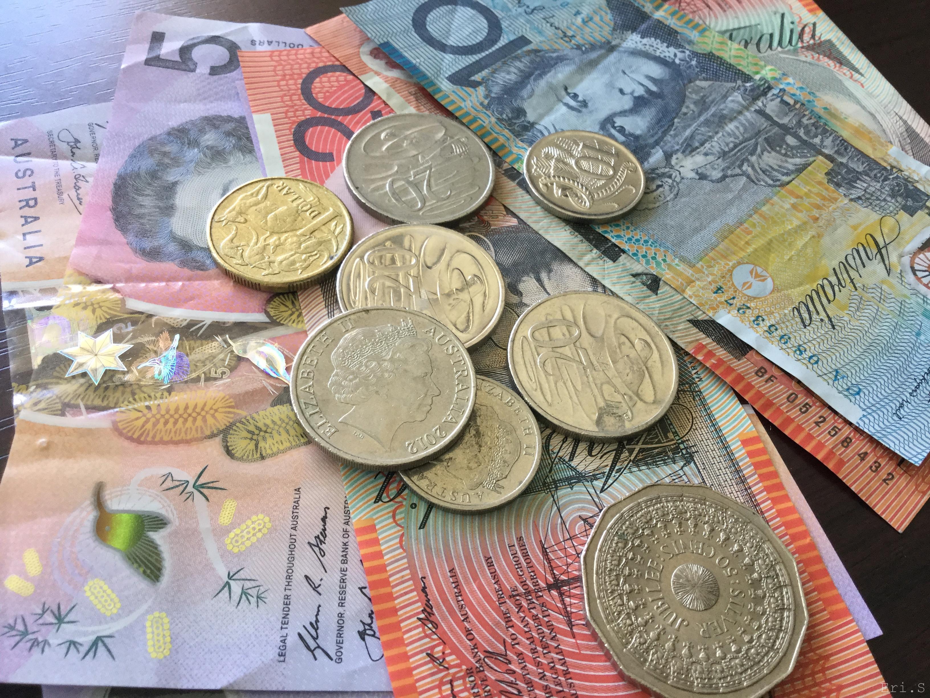 オーストラリア紙幣の最先端技術と載ってる人たち
