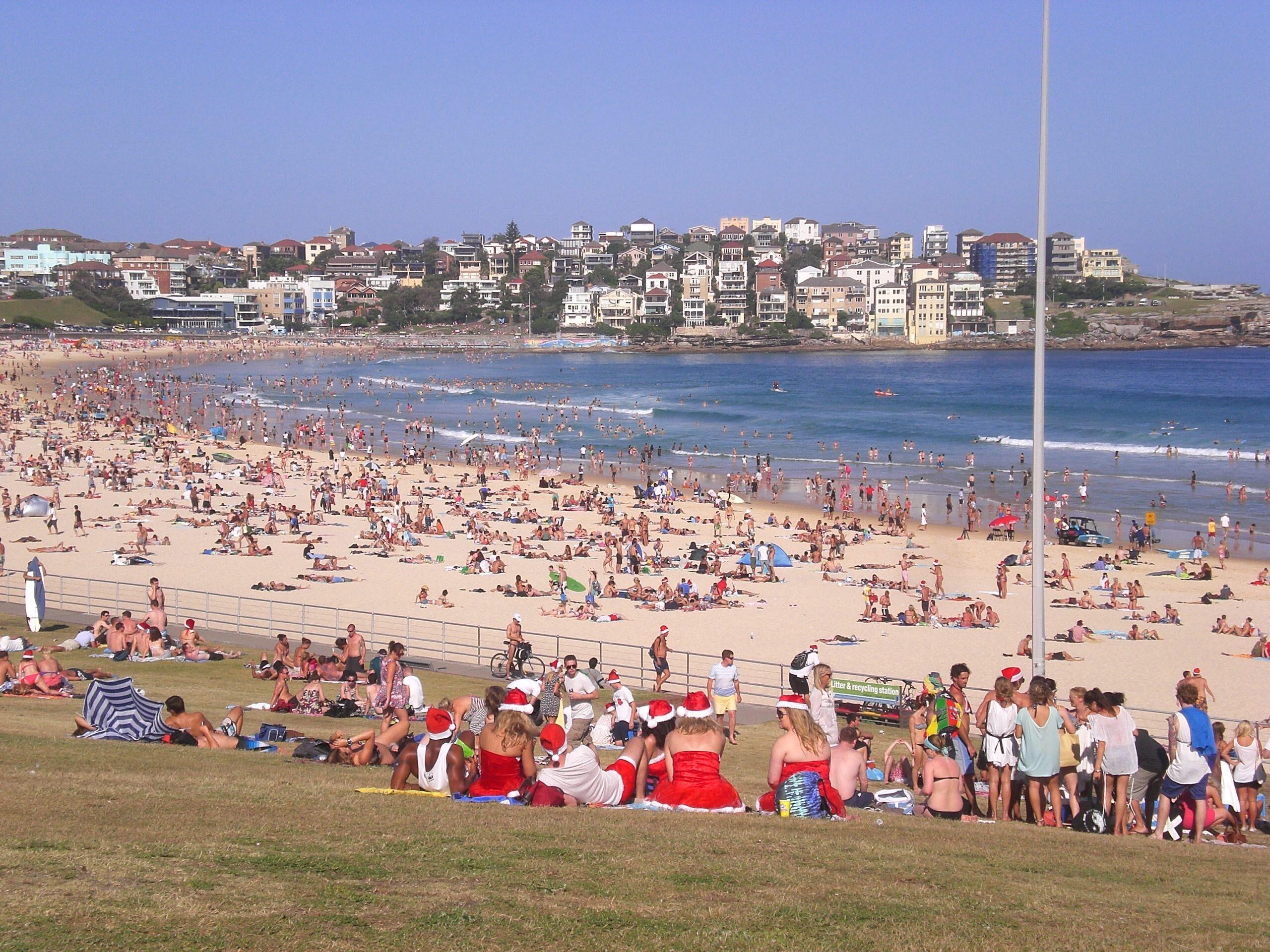 南半球オーストラリアの真夏のクリスマスの過ごし方