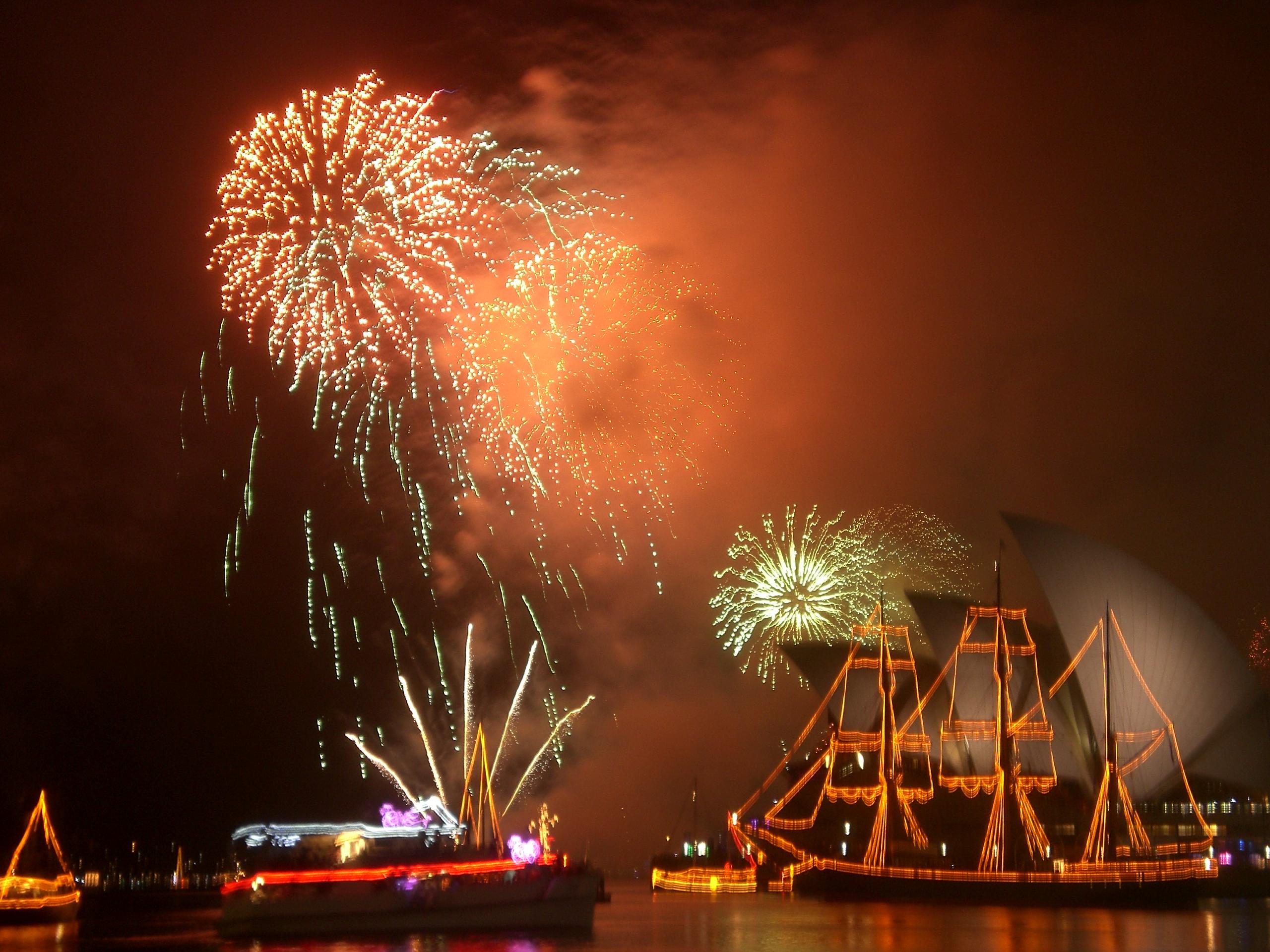 シドニーの花火スポット