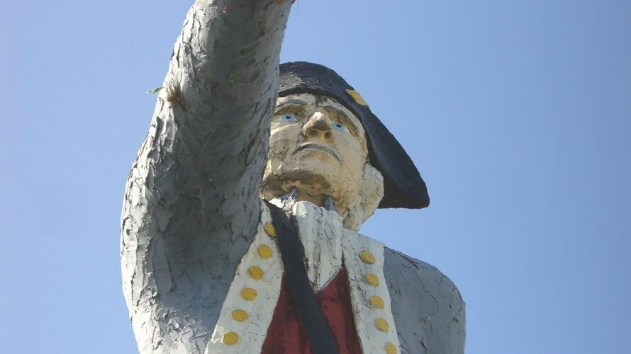 14メートルの大きなクック船長!