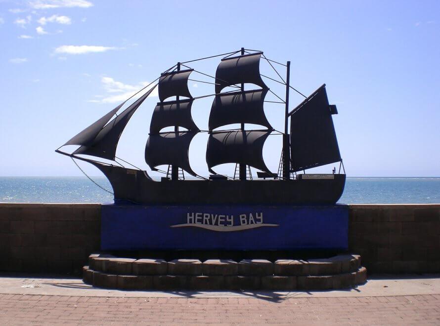 クジラで有名なHervey Bayの観光