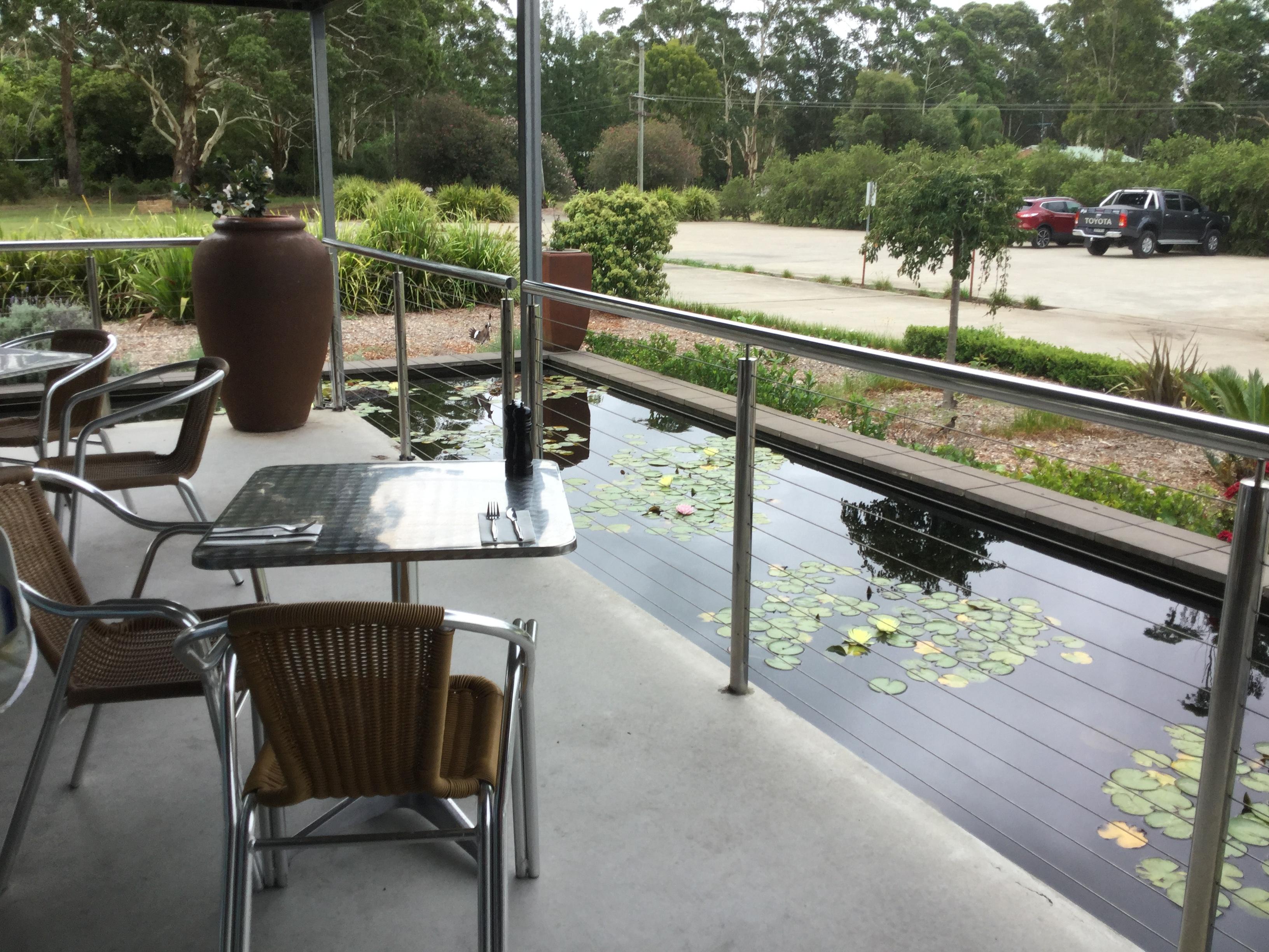 新鮮なバラマンディが食べれるバラマンディファーム at Port Stephens