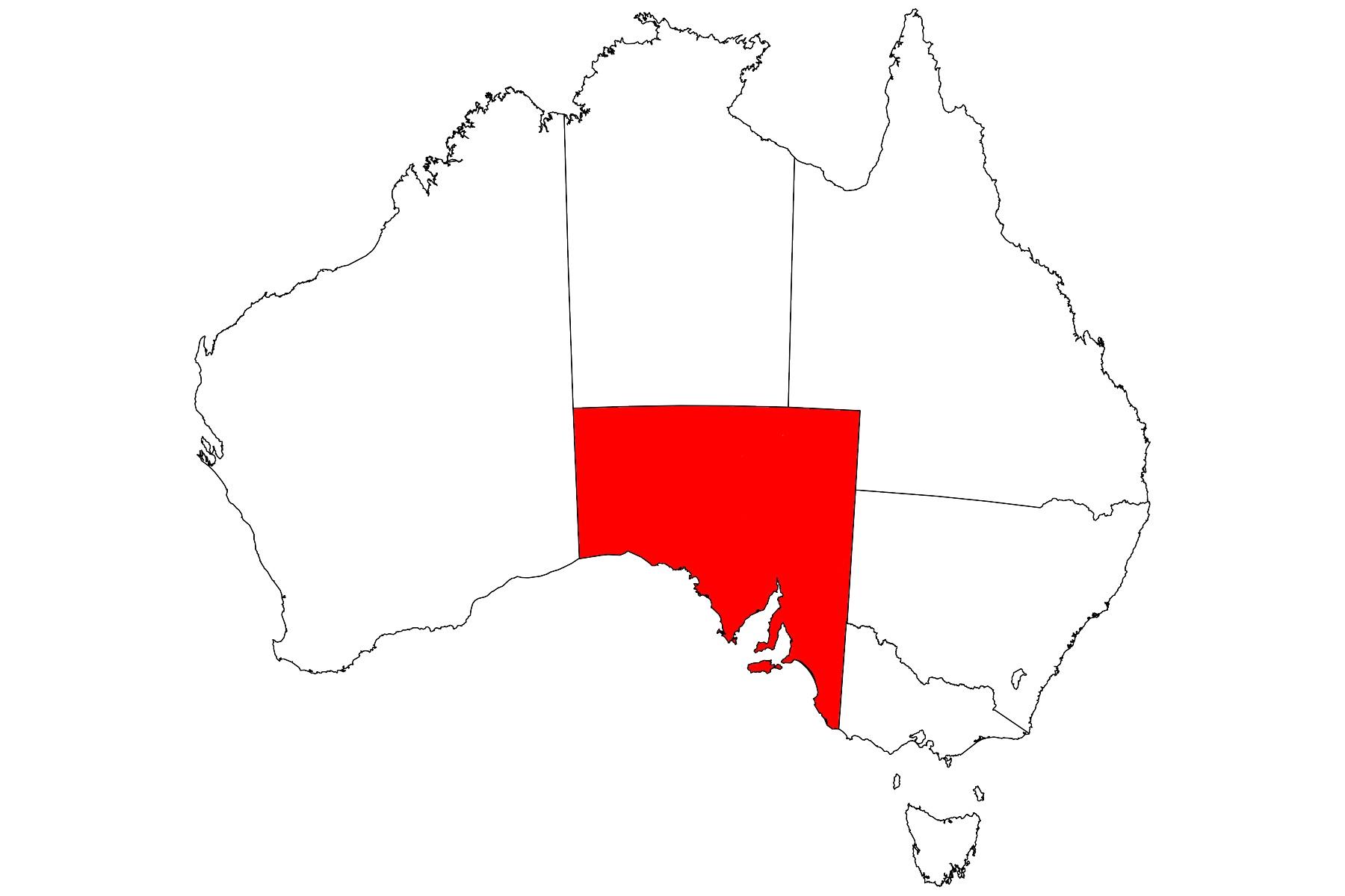 "South Australia州 ""Big Things"" リスト"