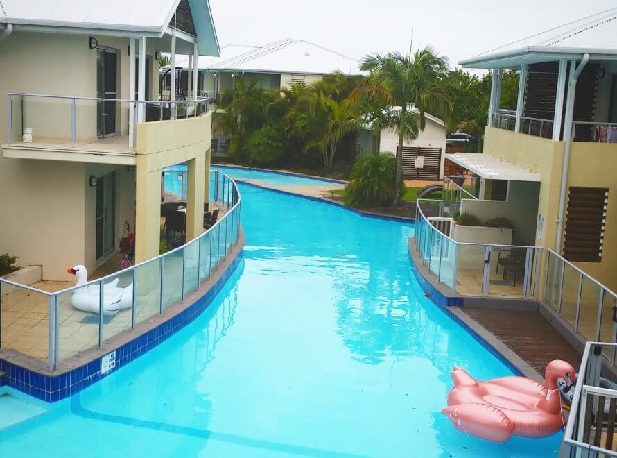完全にリゾート気分♪な、Port Stephensのホテル