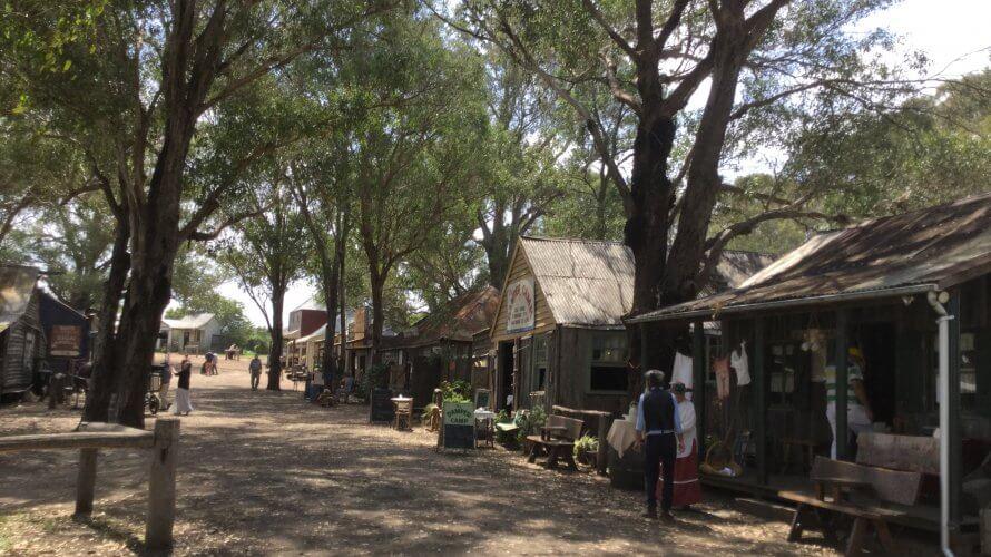 私のお気に入り、開拓者の村 in Wilberforce