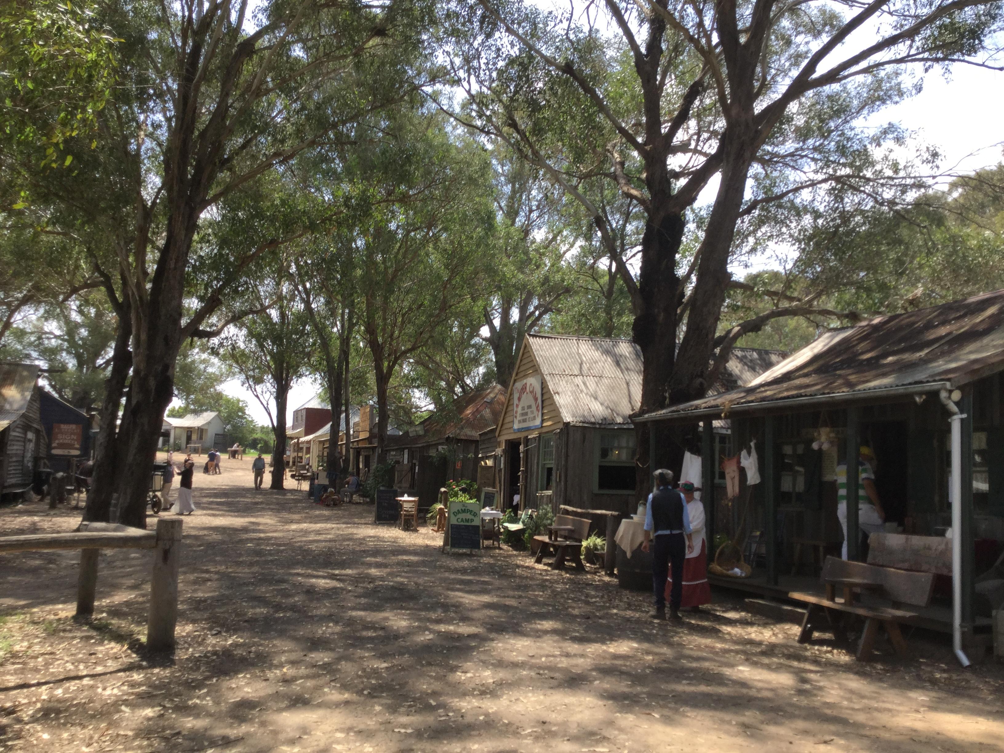 ウィルバーホースにある19世期の開拓者の村へタイムスリップ! (The Australian Pioneer Village)