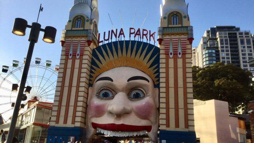 シドニーの遊園地 ルナパーク