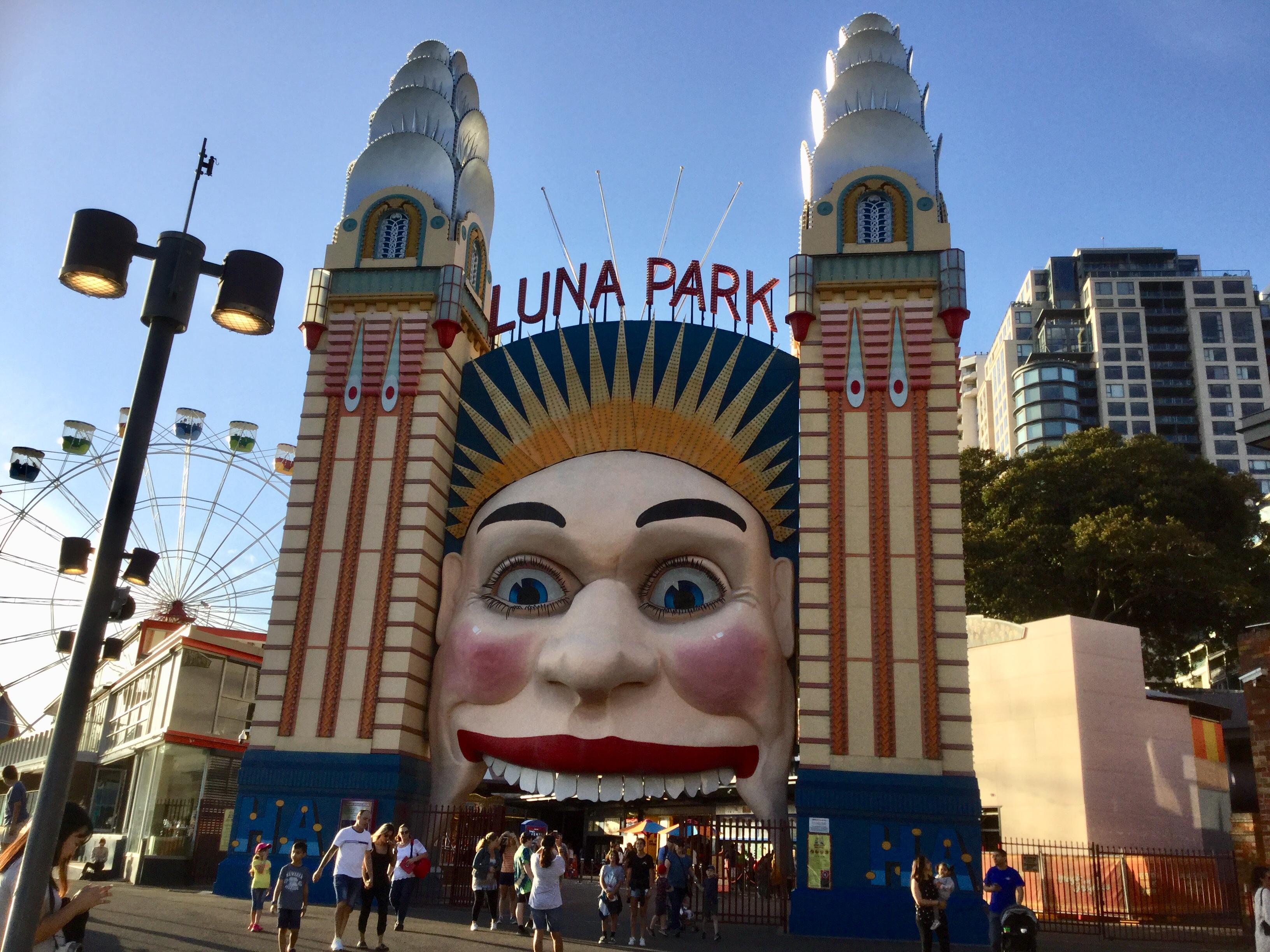 シドニーの遊園地ルナパーク