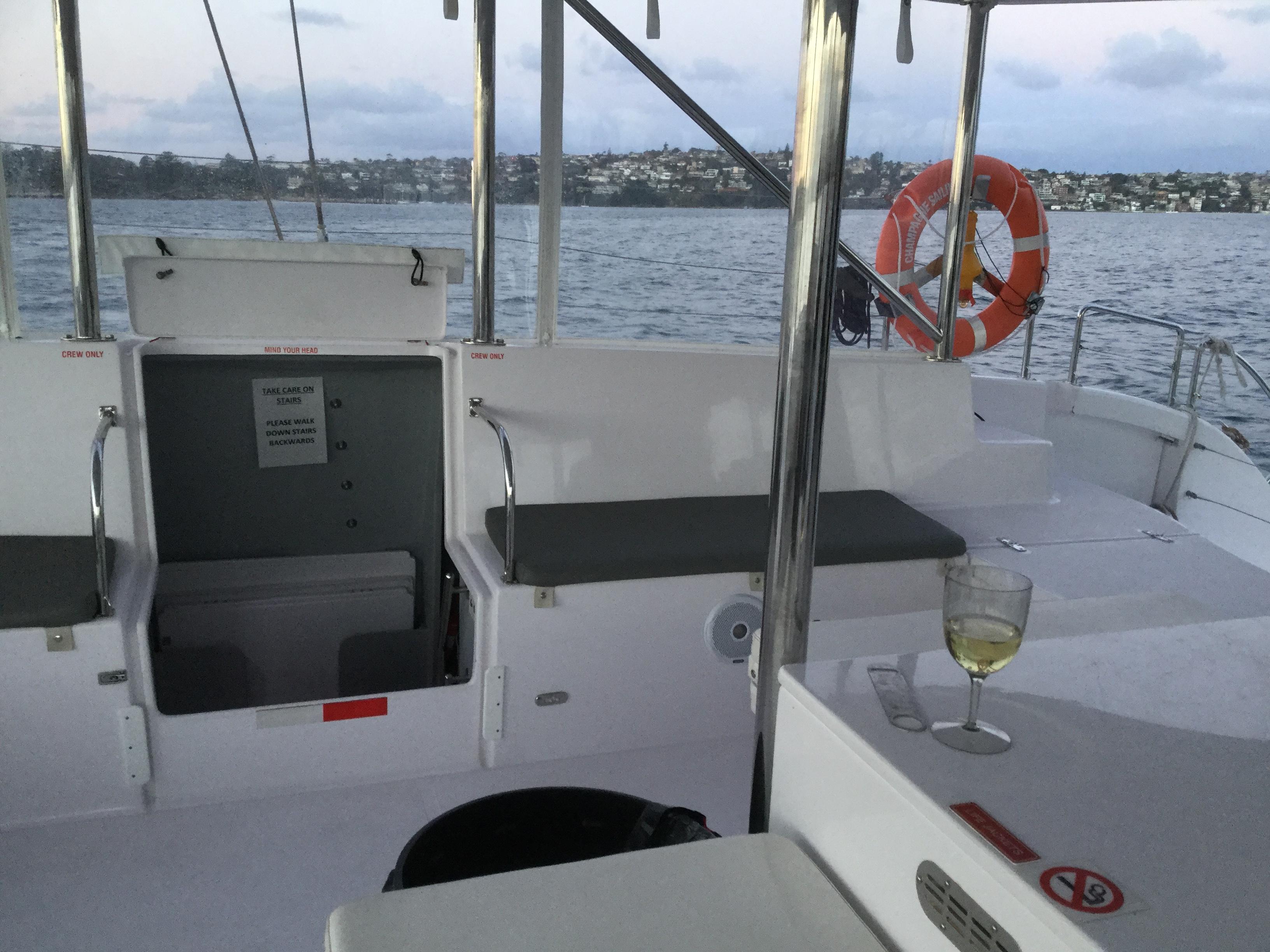 パーティにいかが?シドニー湾を独り占めのプライベートクルーズ