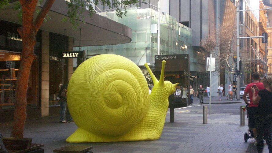 町中に巨大カタツムリが溢れたことも!Art&About Sydney