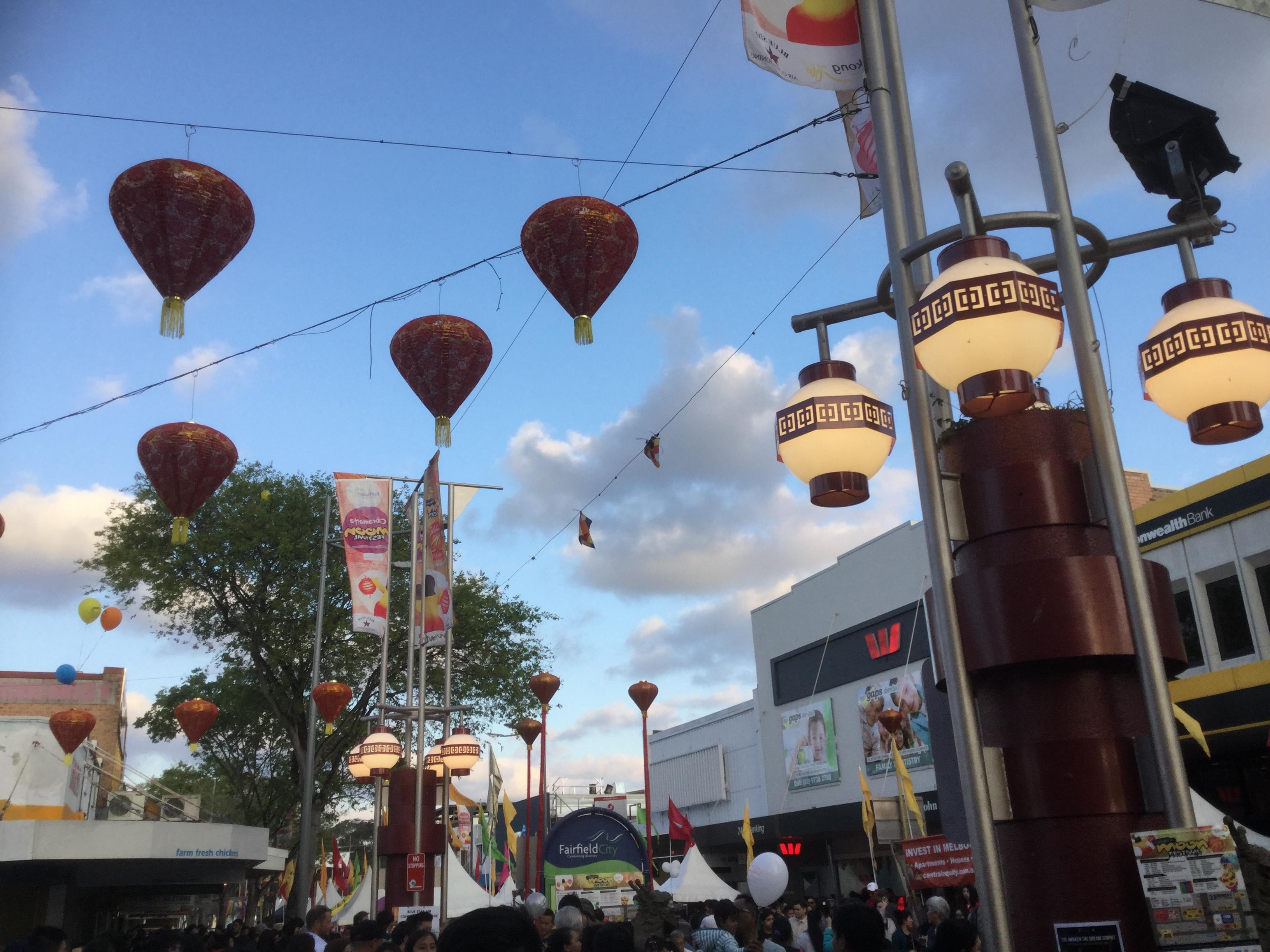 盛大なカブラマッタのお祭りムーンフェスティバル