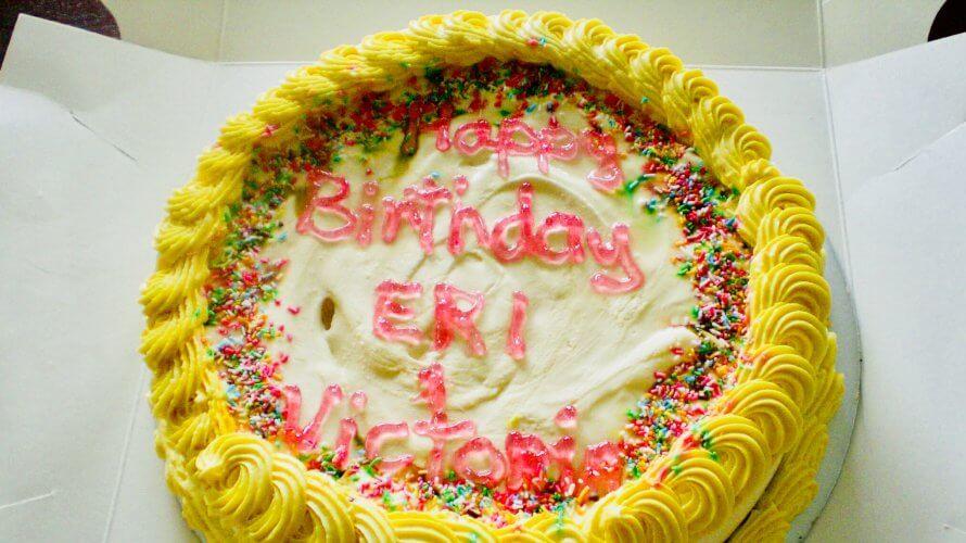 オージーの誕生日パーティあれこれ