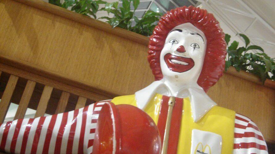 マクドナルドでオージーバーガーを食べよう!