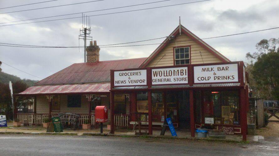 時が止まったようなハンターバレーの町 Wollombi