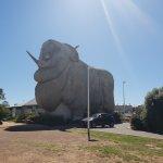 巨大メリノ羊のおみやげ屋さん in Goulburn