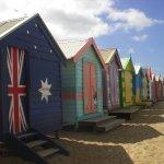 ブライトンビーチのカラフルな小屋は絶好の写真スポット