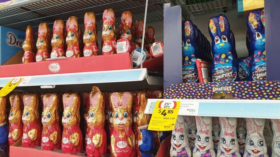心に残ったスーパーマーケットのイースターチョコレートたち