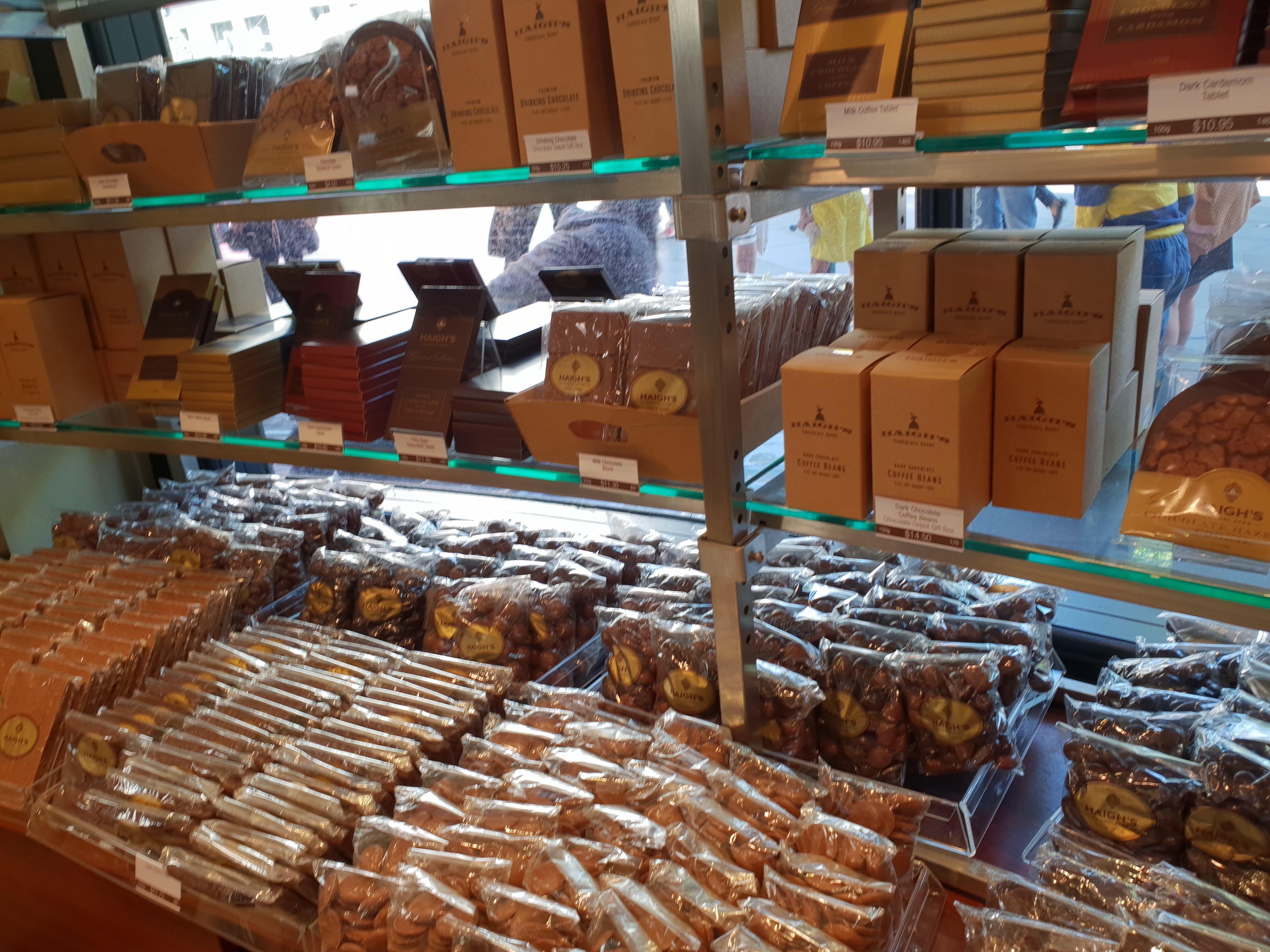 南オーストラリア発!大人気のチョコレートの老舗 ヘーグス (Haigh's)