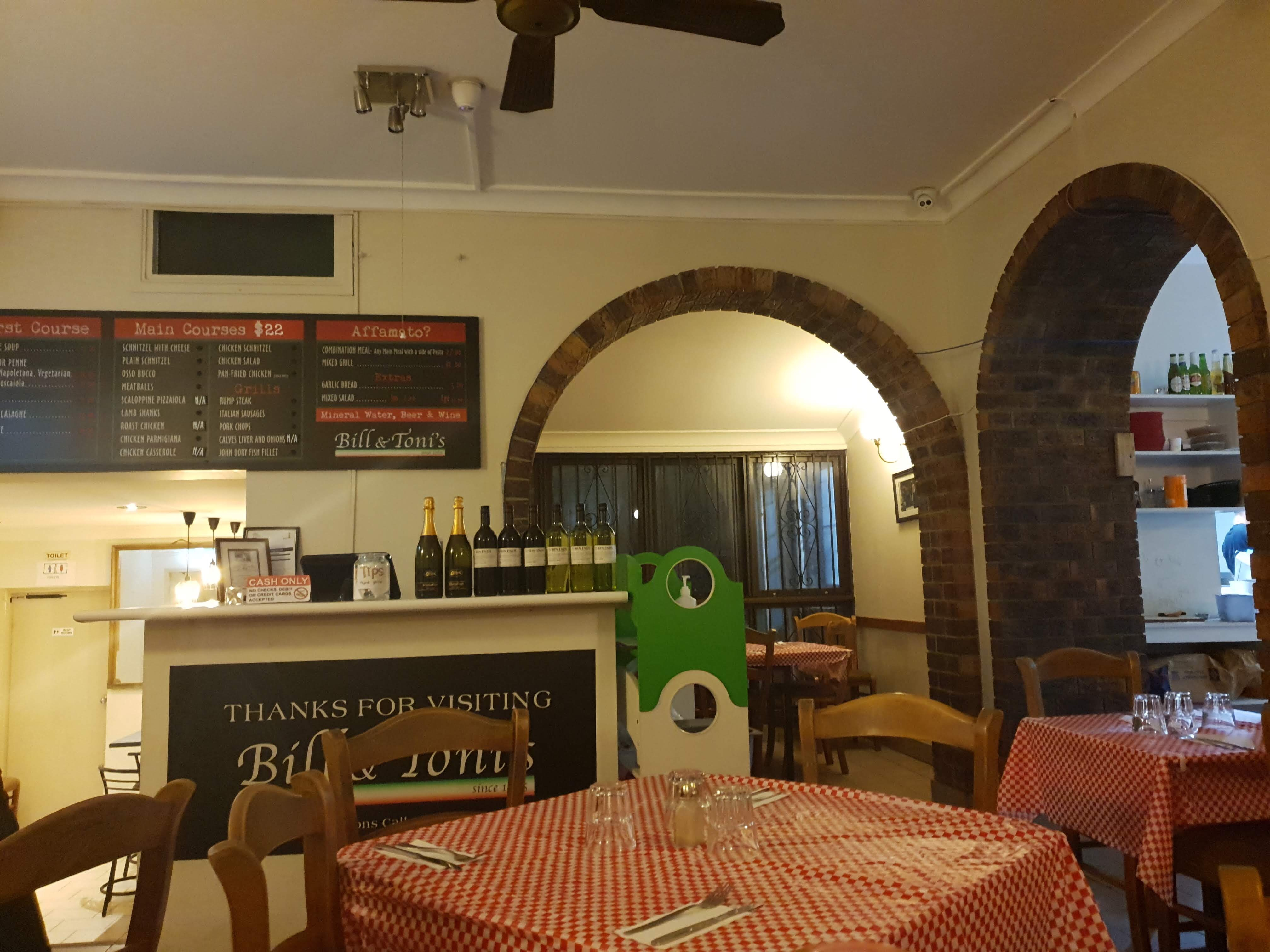 創業50年以上続く安くて早いイタリアンレストラン Bill & Toni