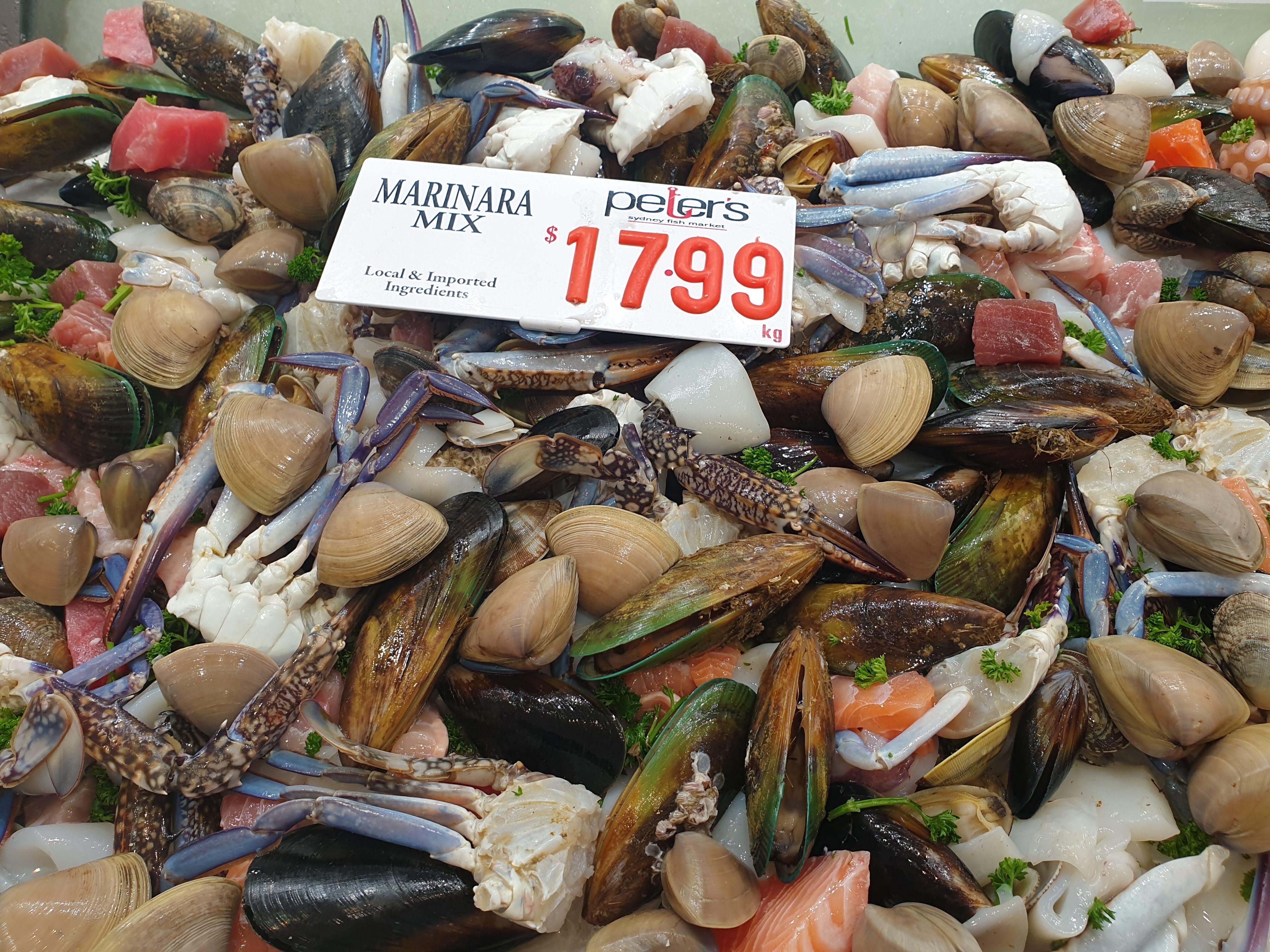 シドニーフィッシュマーケットで新鮮なシーフードを堪能!