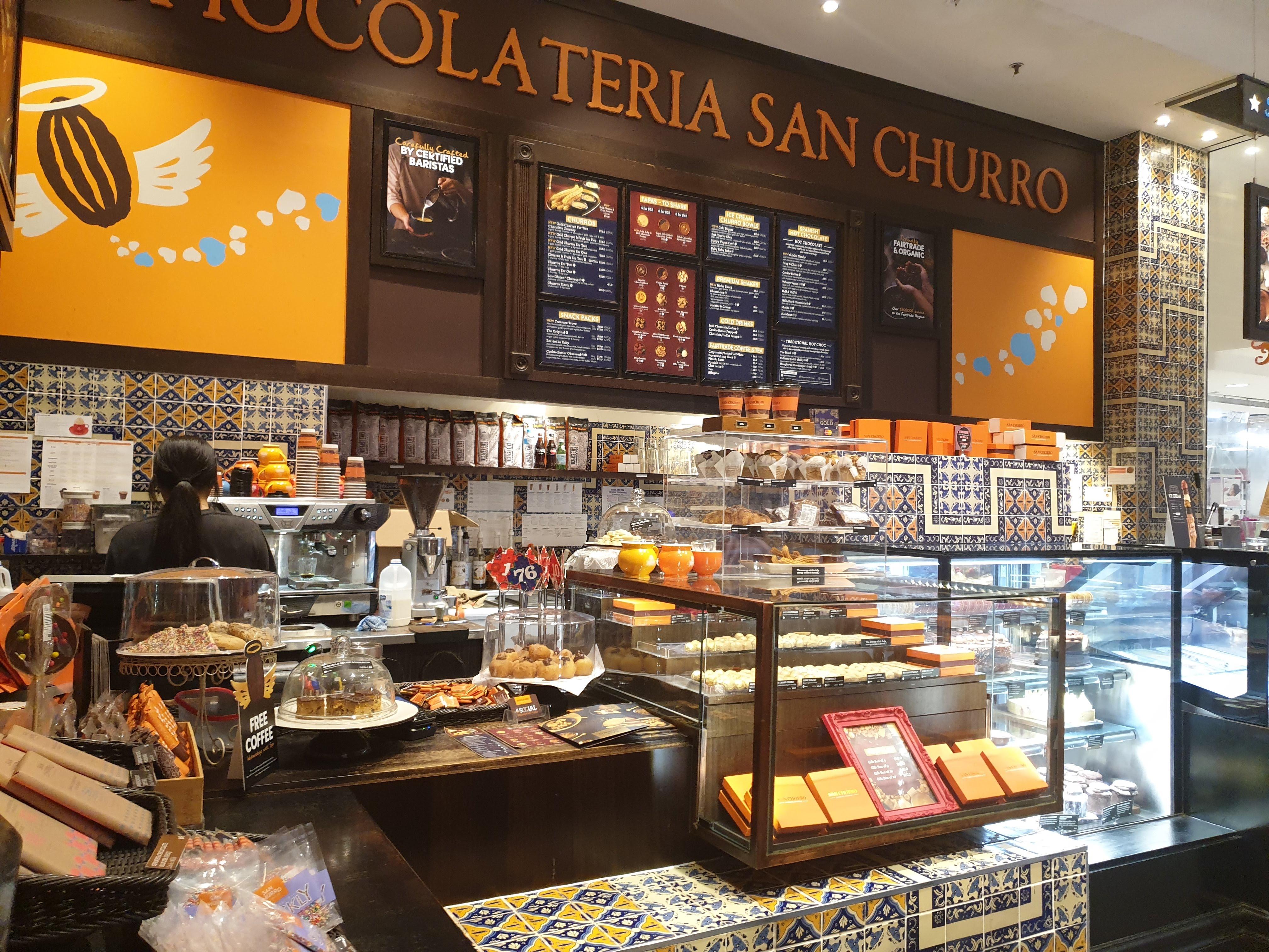 チョコレートとチュロスがおいしいスペインのチェーンカフェ『サンチュロ』