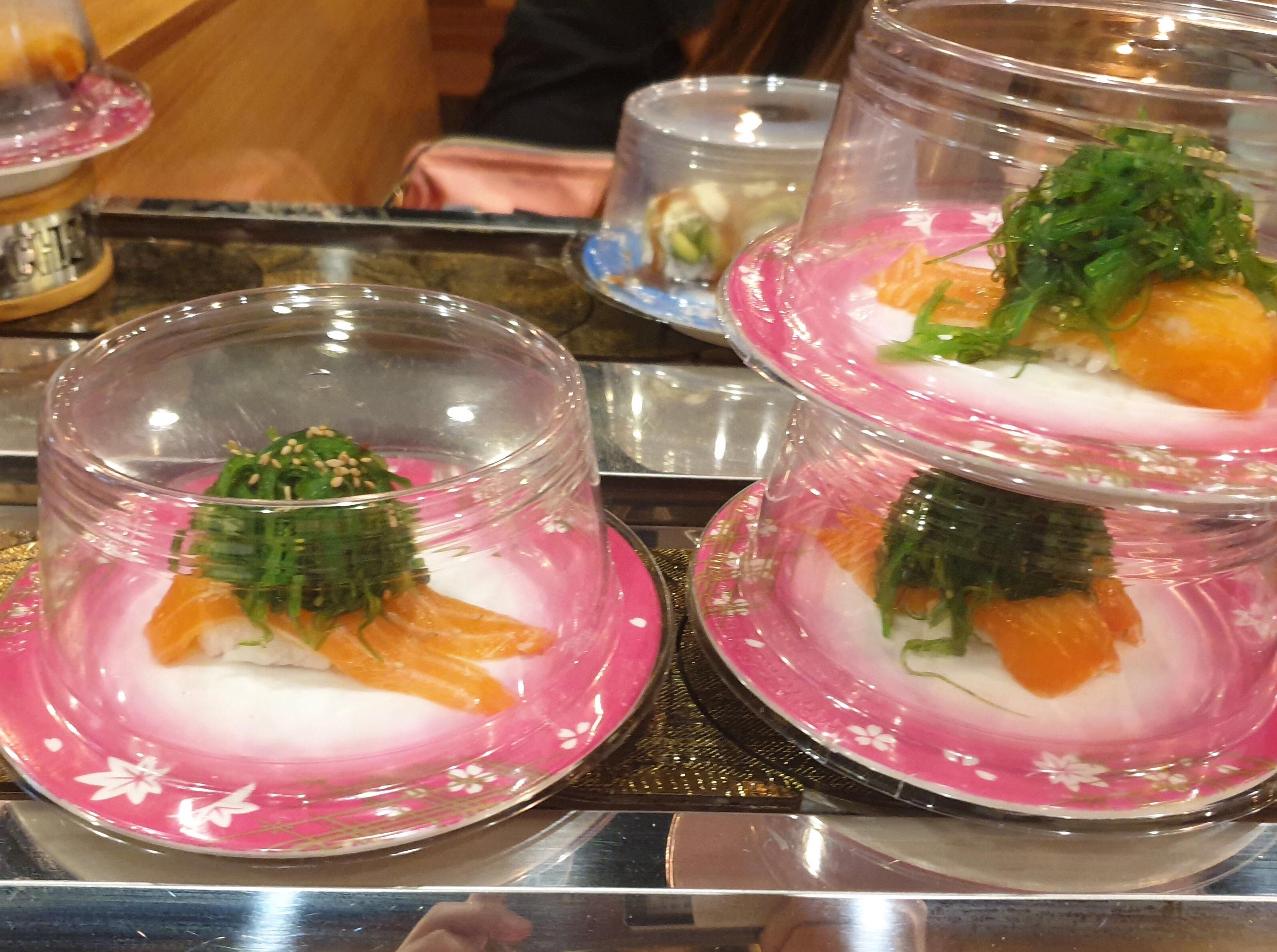 回転寿司の 『Sushi Maru 』に行ってみたら、懐かしいアイスがあった