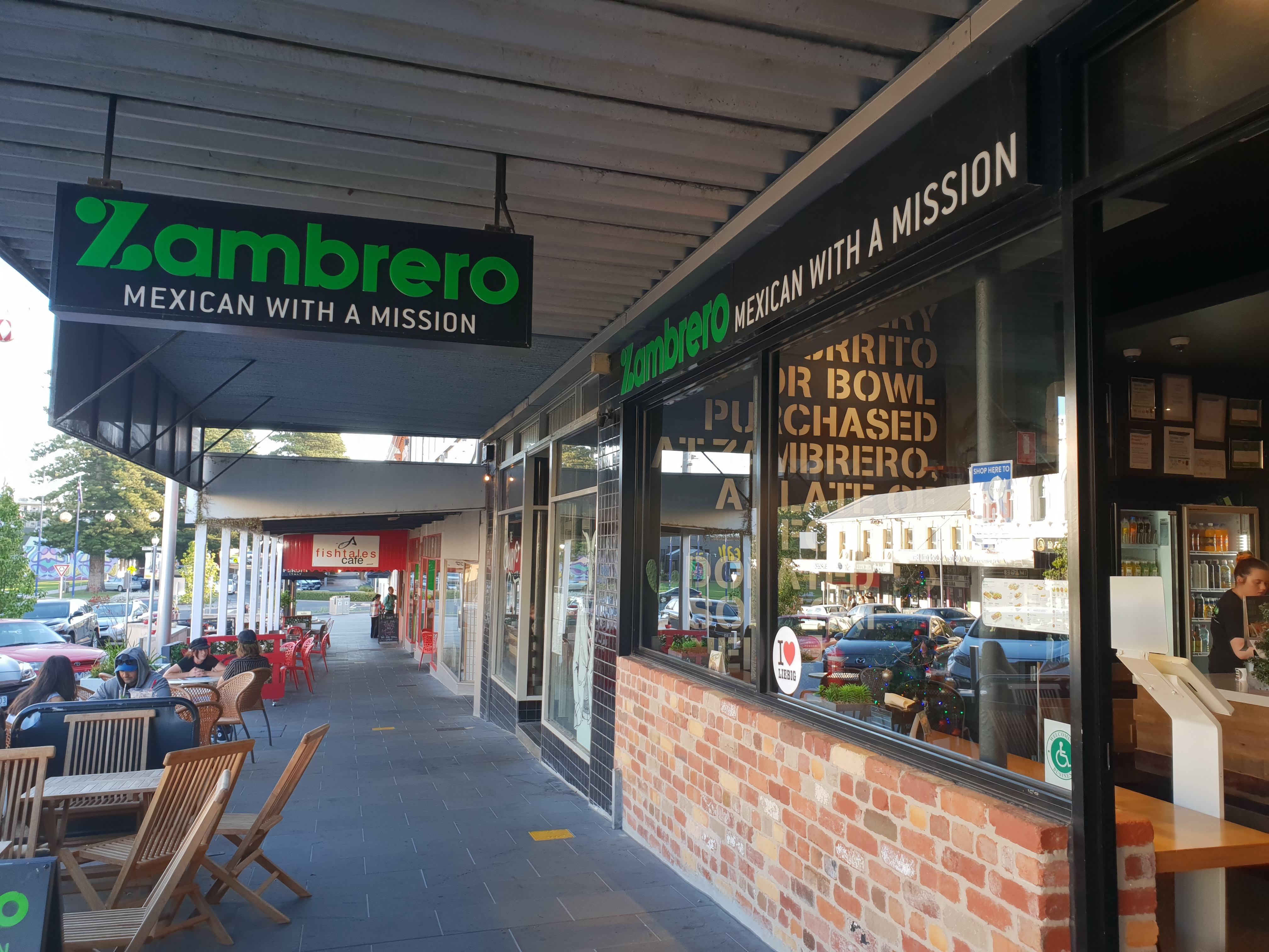 購入しただけで気分が良くなるフランチャイズのメキシカンレストラン『Zambrero』