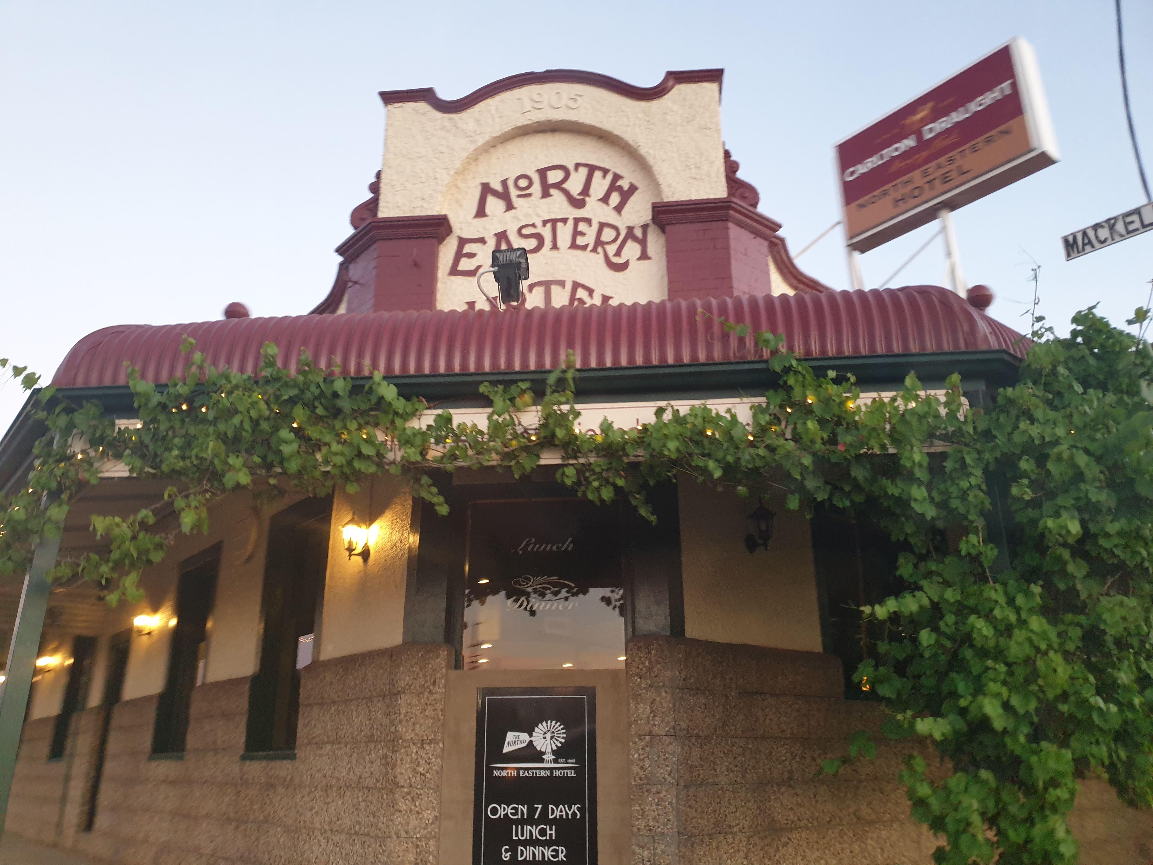 ベナラにある評判の良いローカルパブ The Northo で食事したかった…