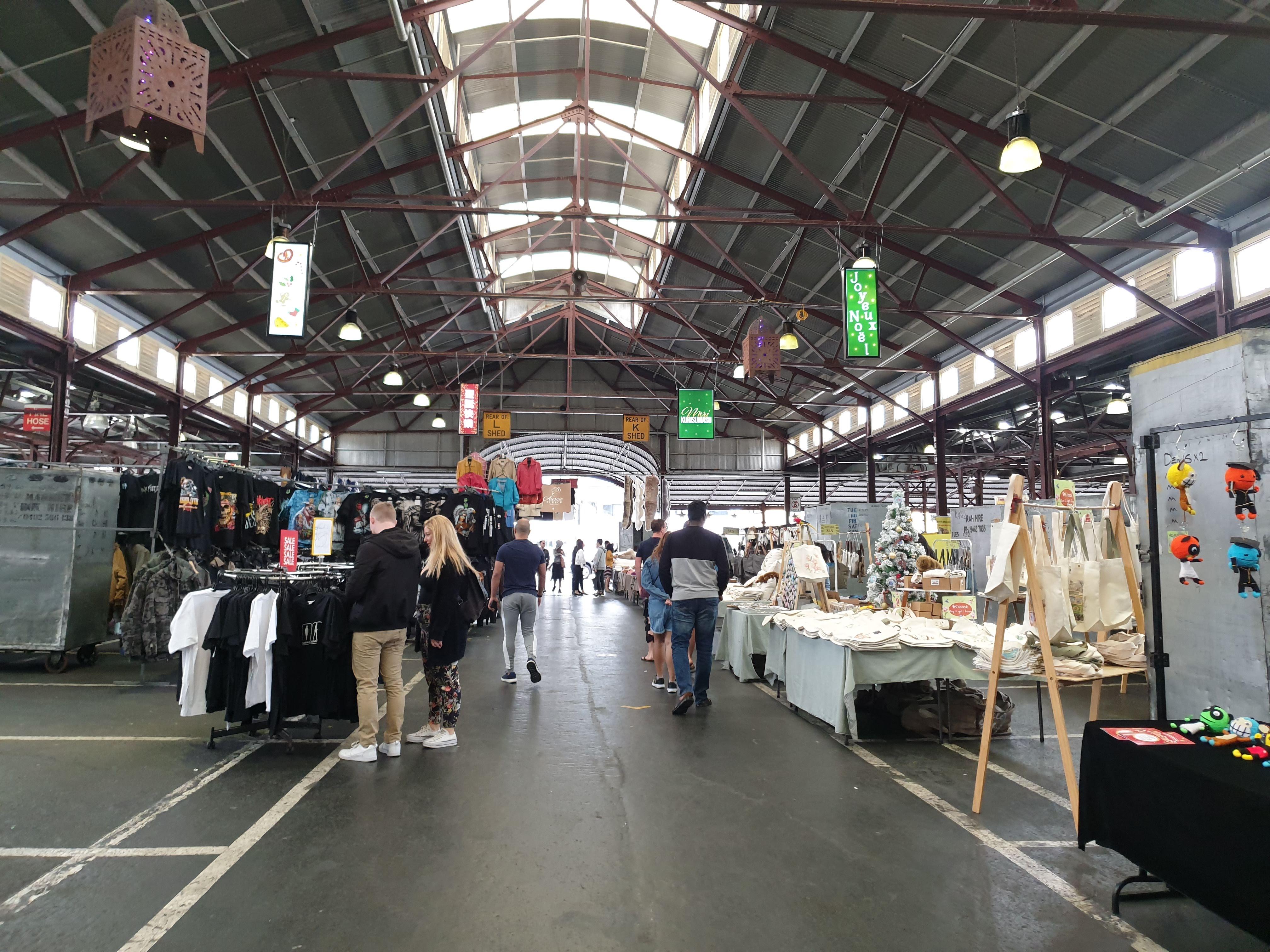 メルボルンで買い物するならクイーンビクトリアマーケットへ!