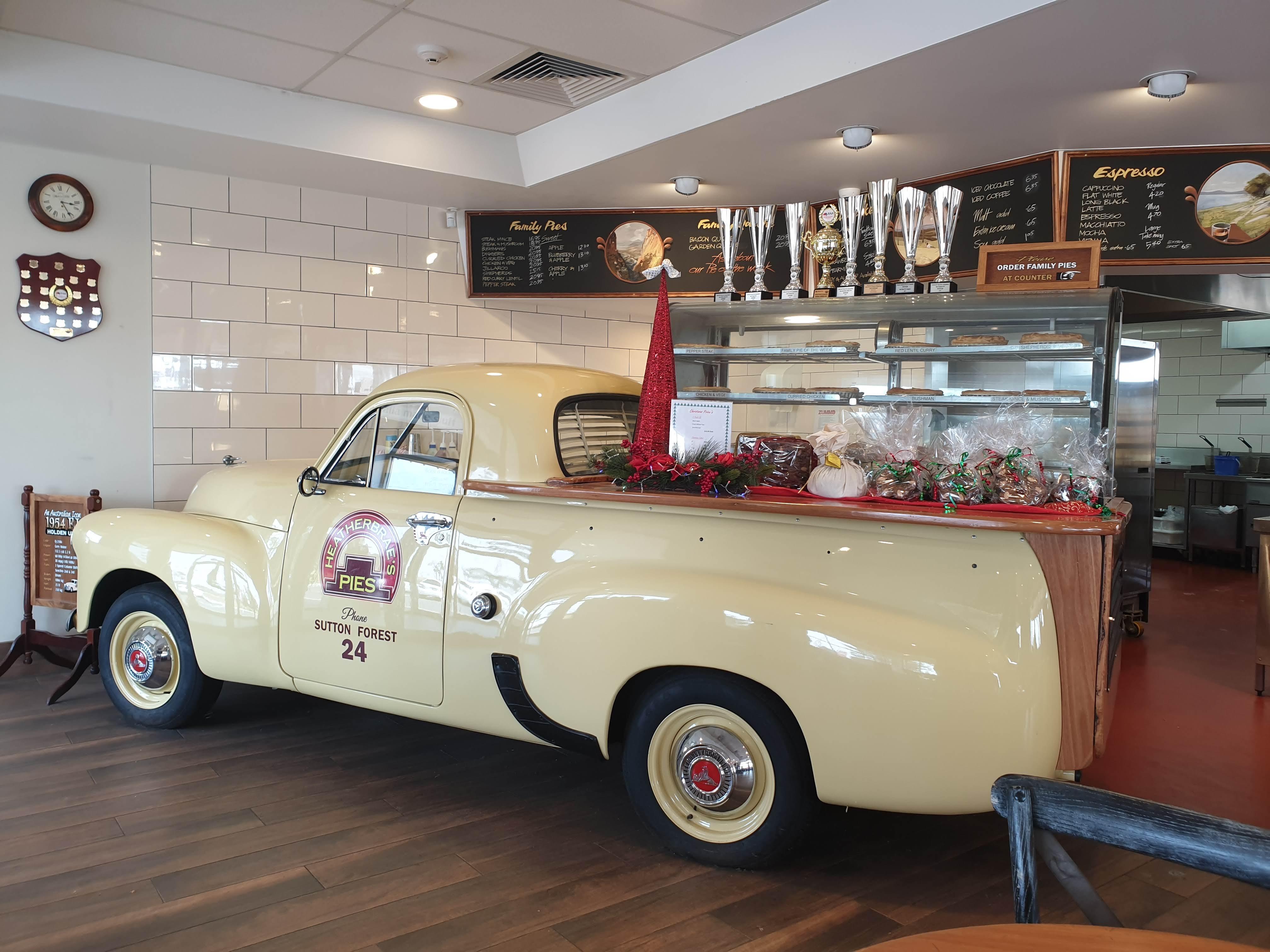 オーストラリアらしいミートパイの店 Heatherbrae's Pie (ヘザーブレイパイ)