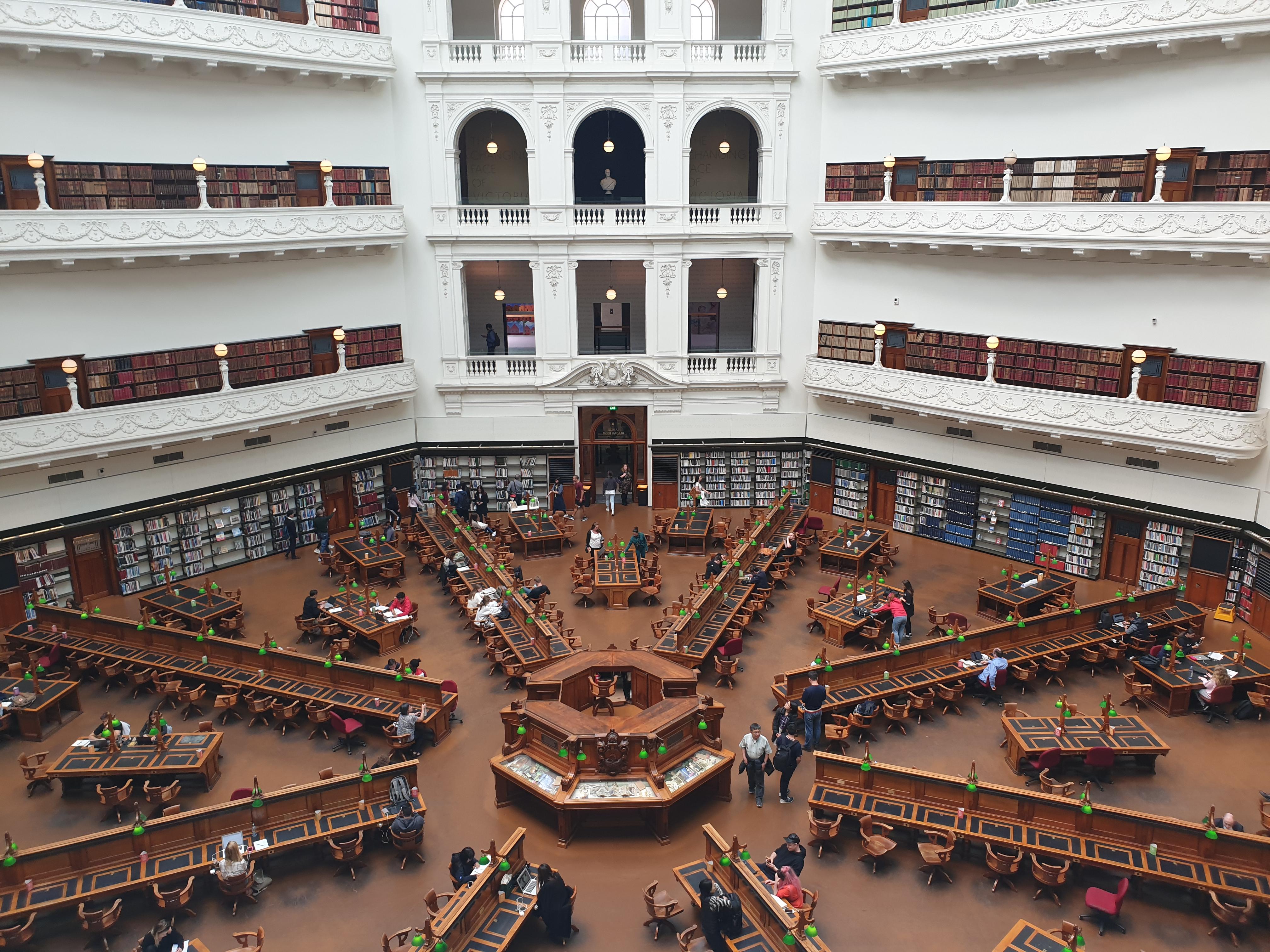 ビクトリア州立図書館はただキレイなだけじゃない!