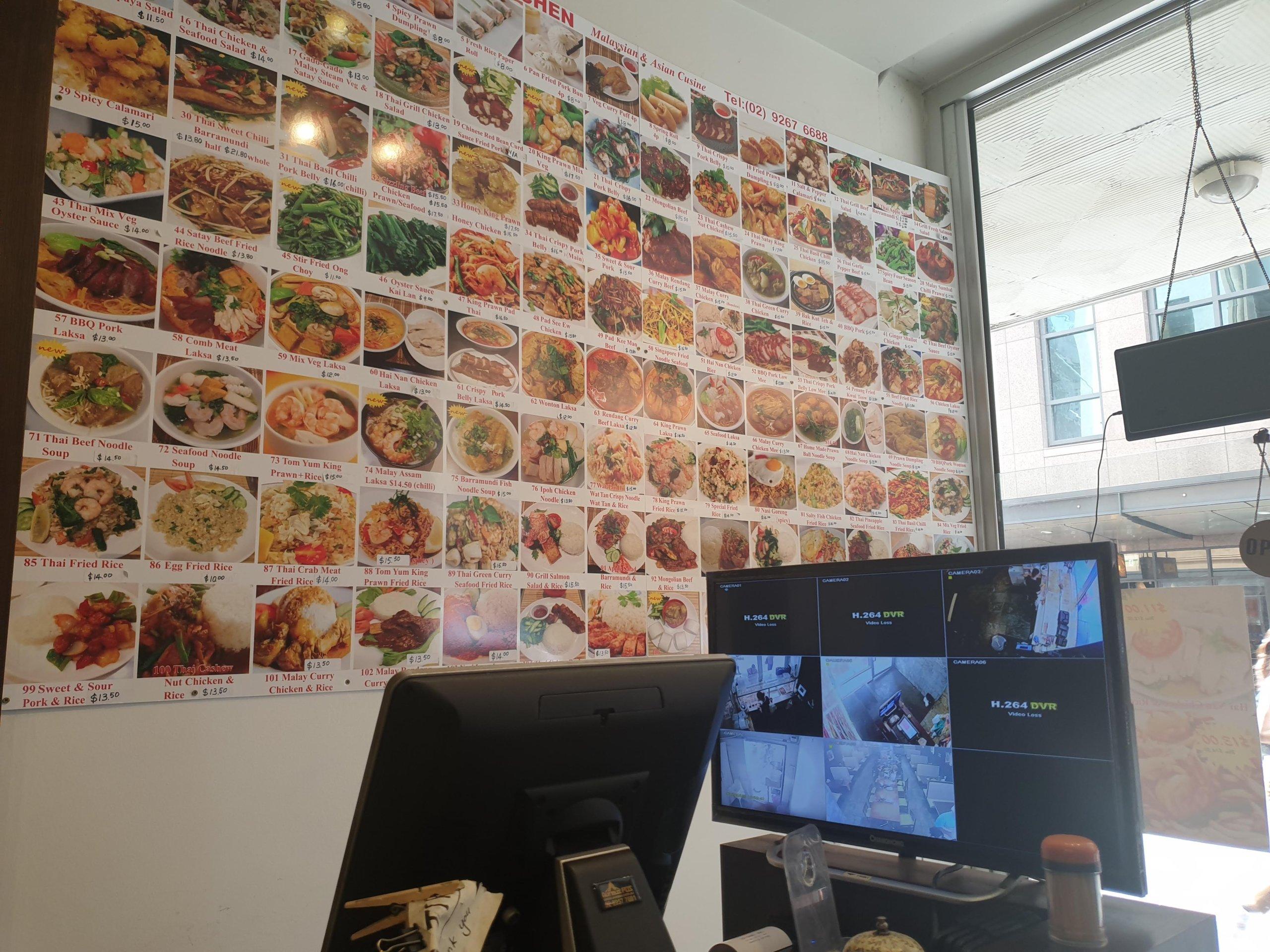 シドニー中心部にあるマレーシア・タイレストラン『David's Kitchen』