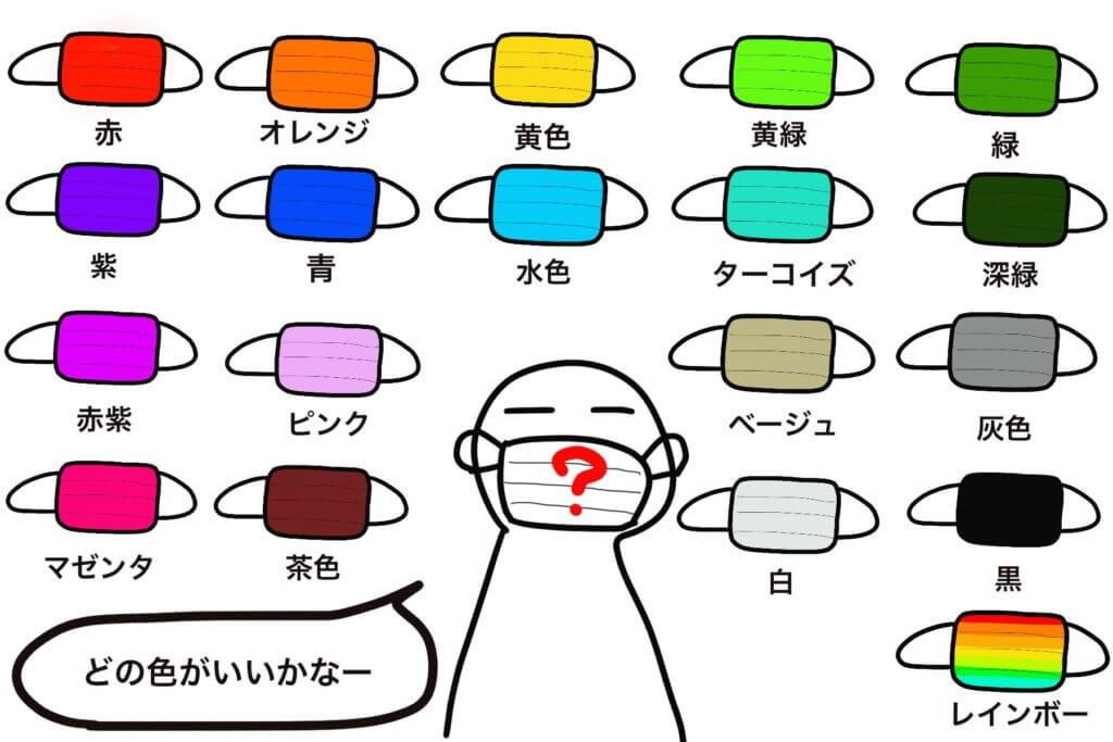 色占い 水色
