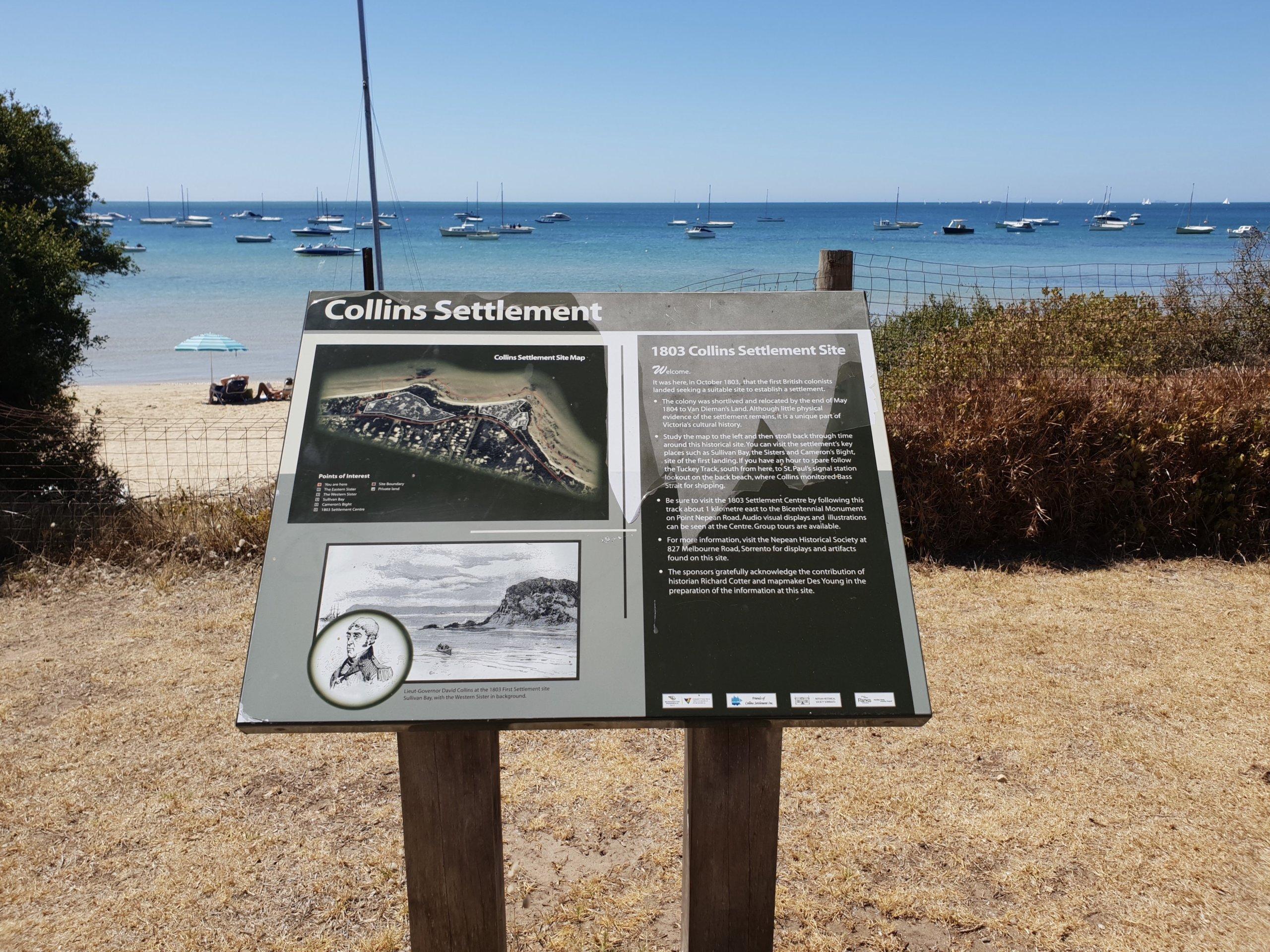 ビクトリア州最初の開拓地は数カ月で放棄されたモーニントン半島だった