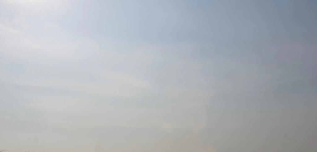 Bushfire sky