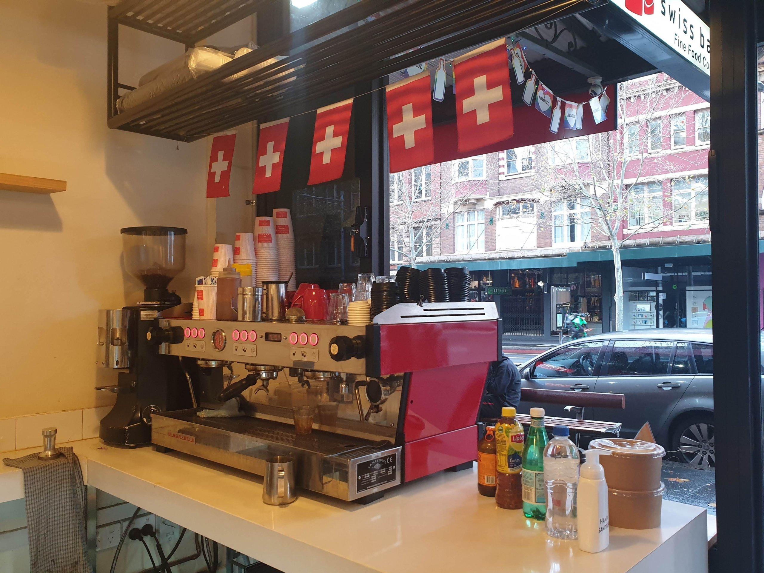 オックスフォードストリートにあるスイス系ベーカリー『Swiss Bakerz』