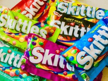 アメリカのお菓子だけど、オーストラリア版もある『スキットルズ (Skittles) 』