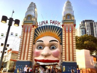 地元で愛され続けるシドニー の遊園地『ルナパーク』