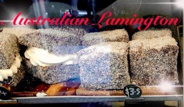 オーストラリアで人気の伝統的なお菓子『ラミントン』