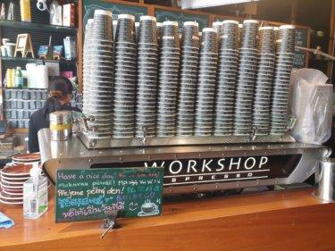 シドニーのど真ん中にある大人気のコーヒー『 Workshop Espresso』