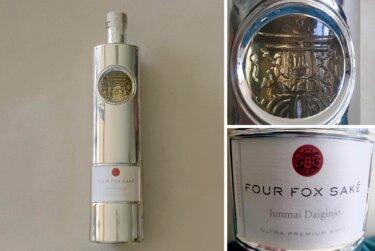 スタイリッシュな新潟の純米大吟醸 『Four Fox Sake』を飲んでみた