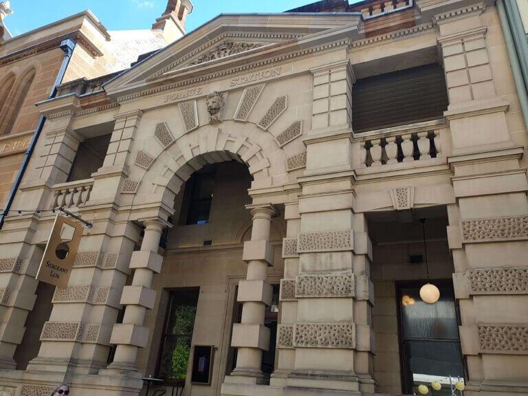 シドニーの歴史的建造物