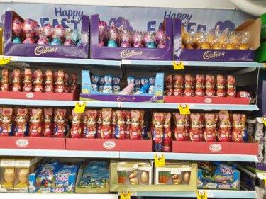 私のイチオシ!スーパーマーケットで買えるイースターのチョコレートが楽しい!