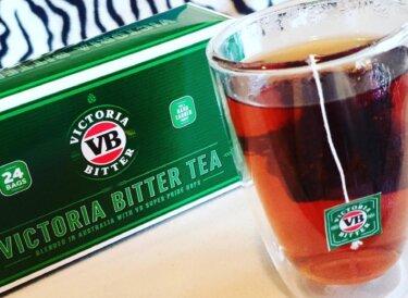 数量限定!ビクトリアビターのビール味がするという紅茶を飲んでみた