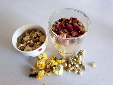 華やかな気分になれる中国の『花茶』は美容と健康にも良いらしいので飲んでみて!