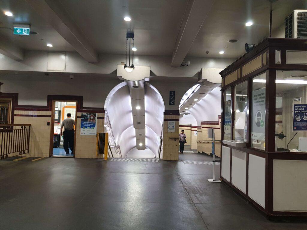 Museum railway station