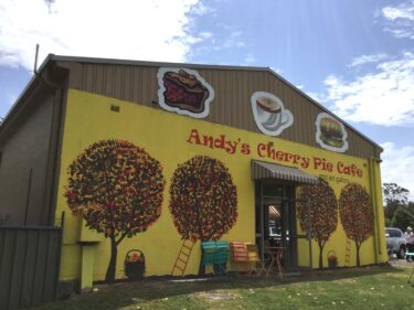 かわいくておいしい『アンディズ・チェリーパイカフェ (Andy's Cherry Pie Cafe)』